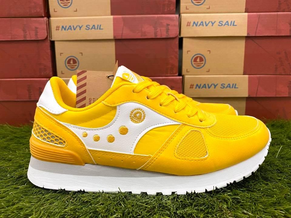 scarpe navy sail ragazzo gialle
