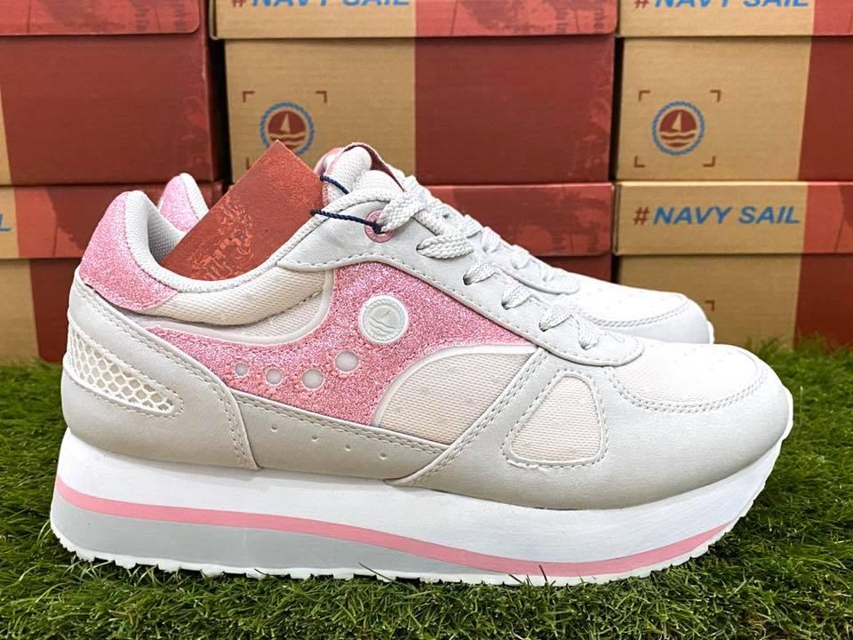 scarpe navy sail donna rosa