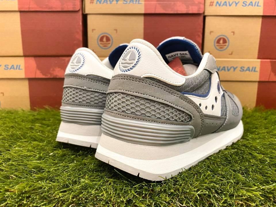 scarpe navy sail ragazzo grigie