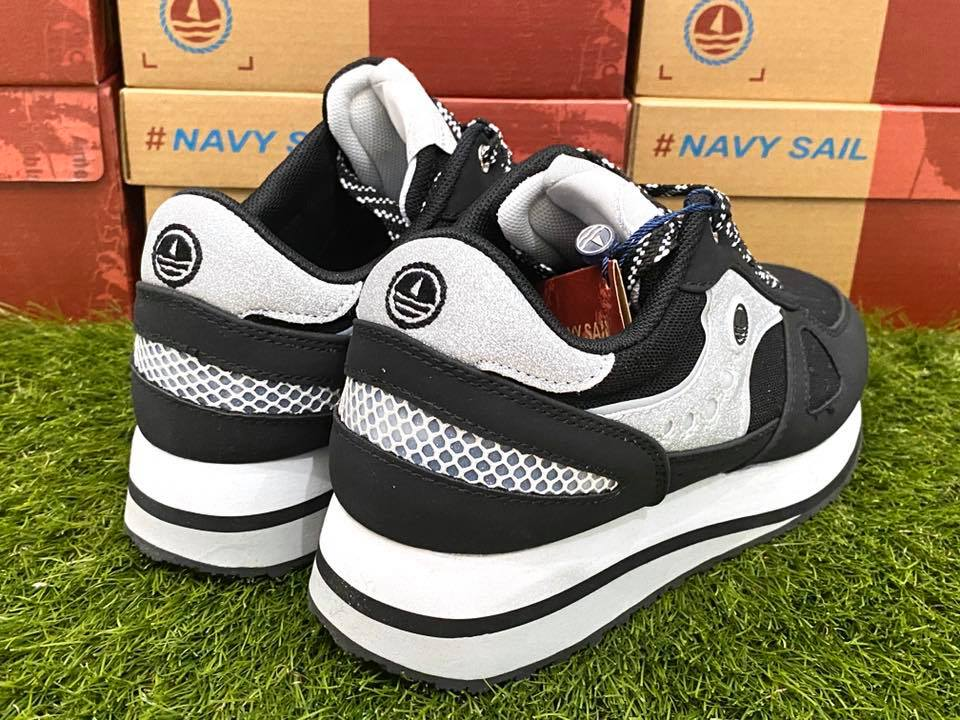 scarpe navy sail donna nero