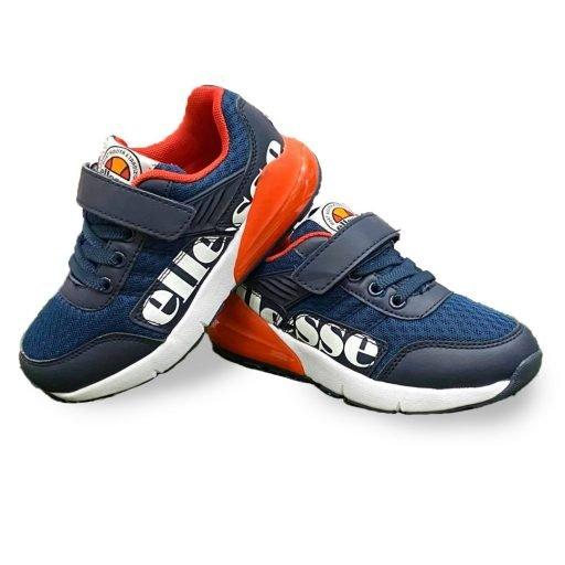 scarpe ellesse bambino art blu