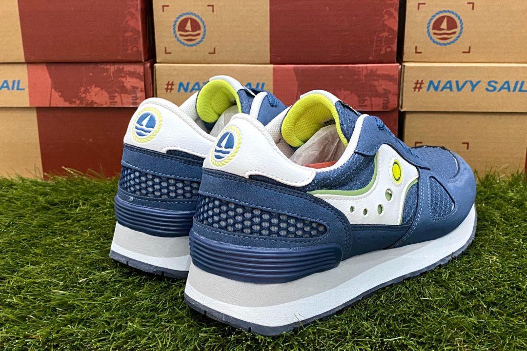 scarpe navy sail ragazzo blu