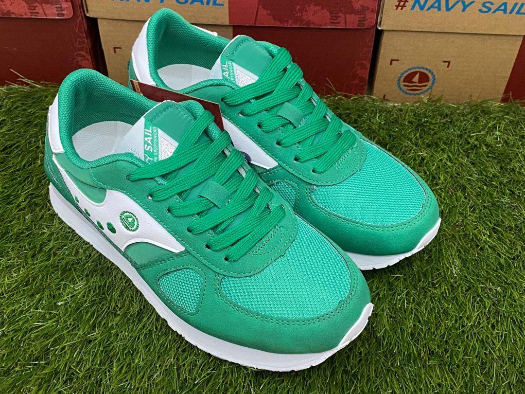 scarpe navy sail ragazzo verdi