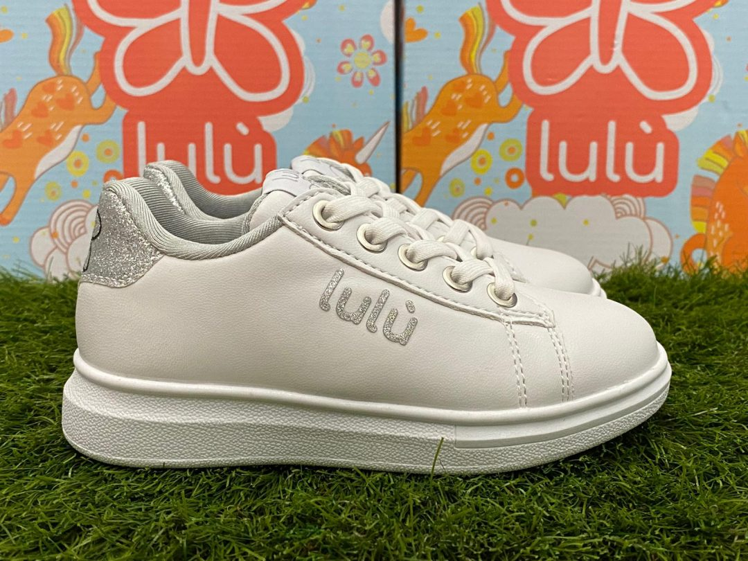 scarpe lulù bambina bianca