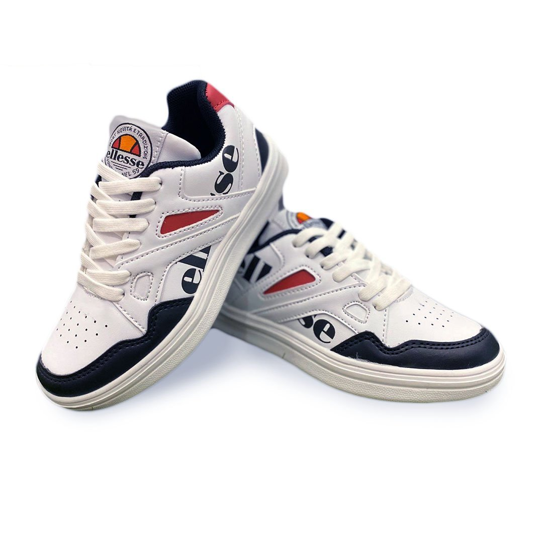 scarpe ellesse bambino bianco andy