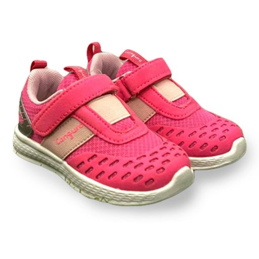 scarpe canguro bambina rosa e bianca