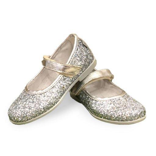 scarpe melania bambina ballerine glitter