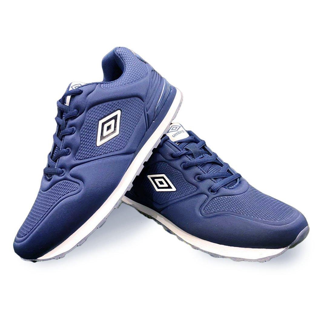 scarpe umbro blu ginnastica uomo