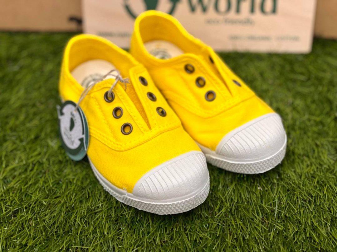 natural world bambino giallo