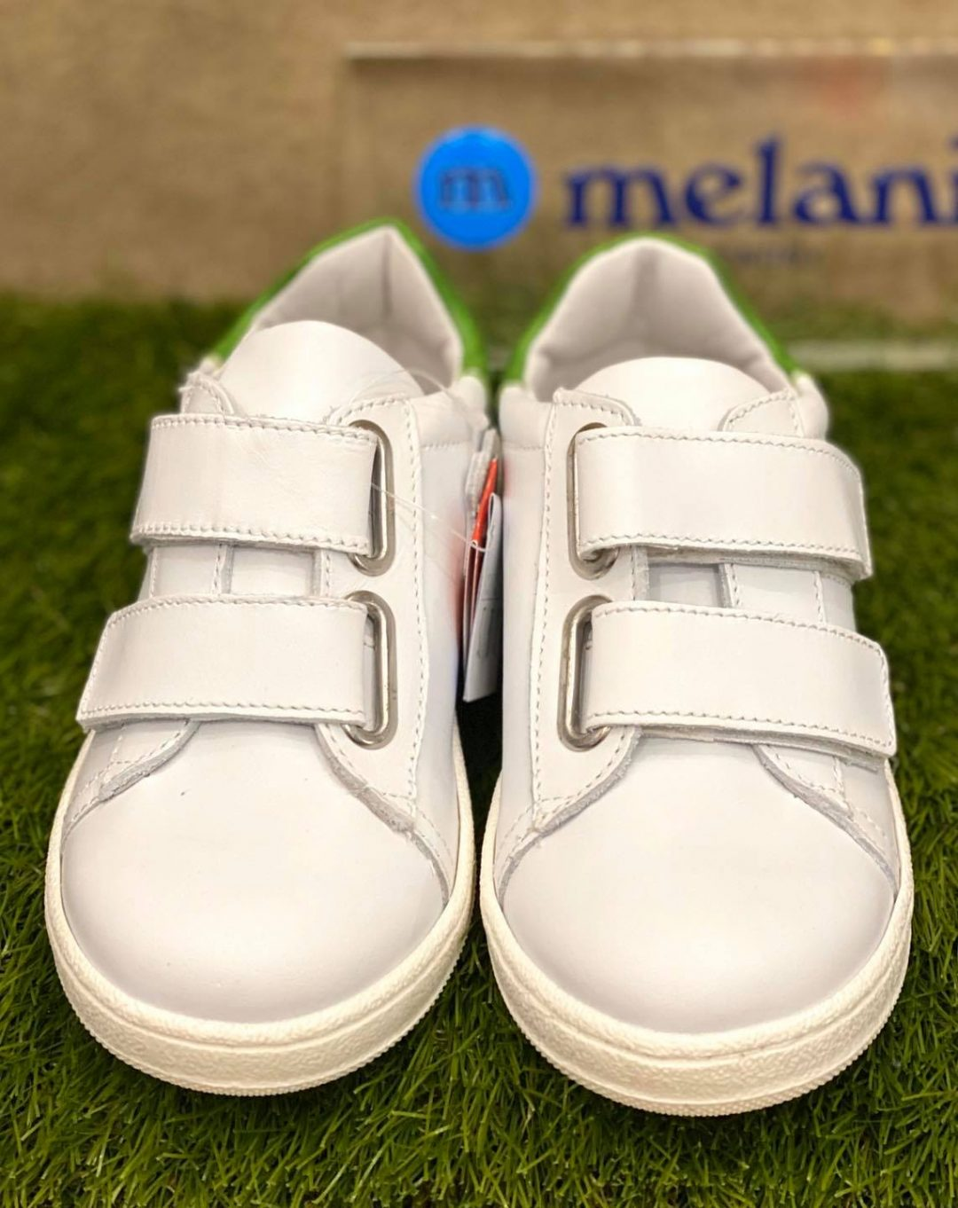 Scarpe bambino bianche melania
