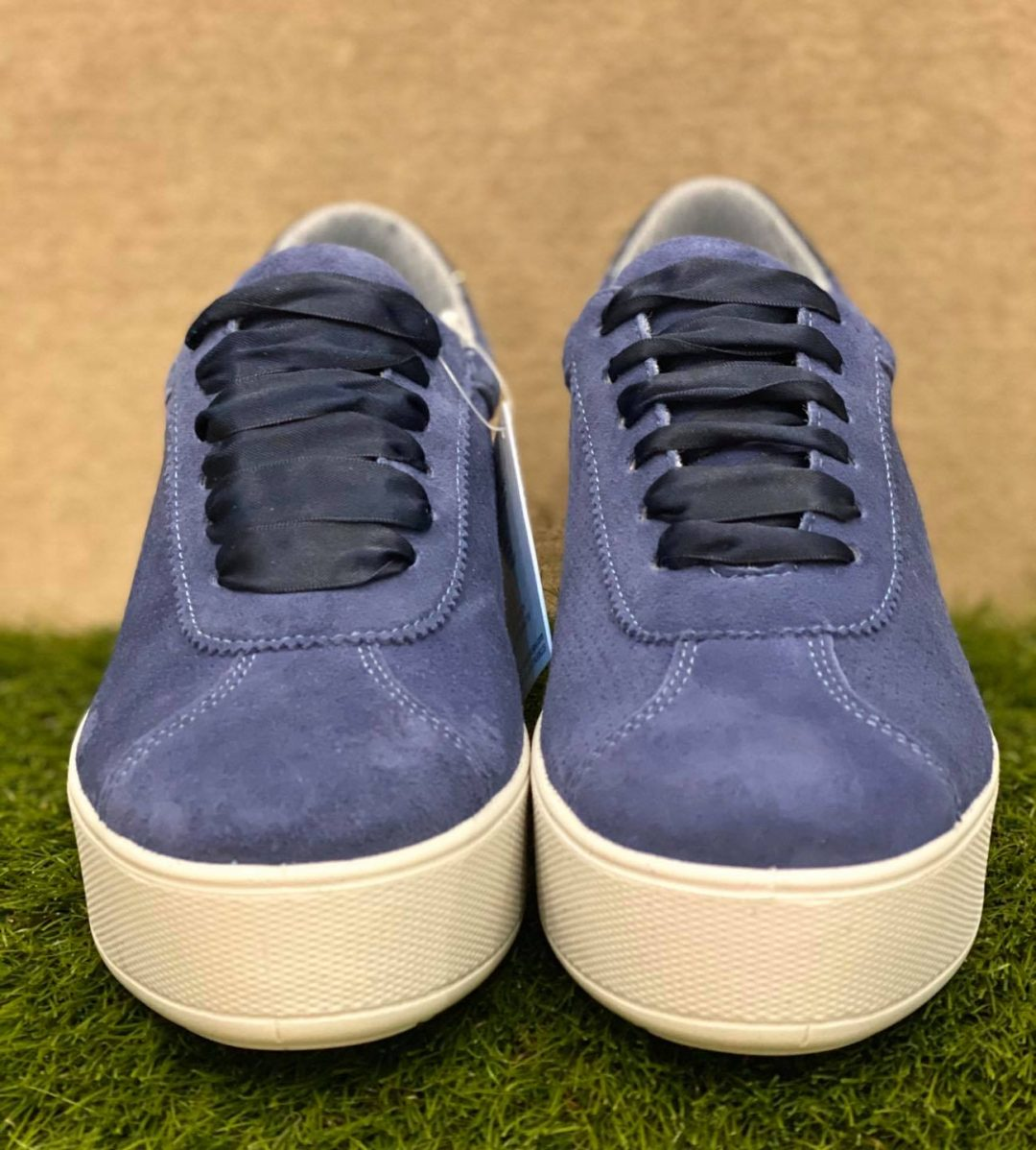 IMAC Sneakers Donna blu made in italy