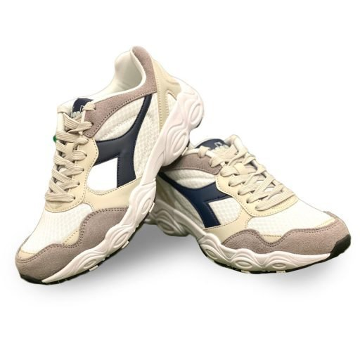 uomo bianco diadora fit run scarpe