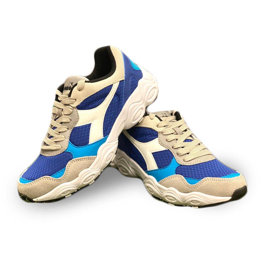 uomo blu diadora fit run scarpe