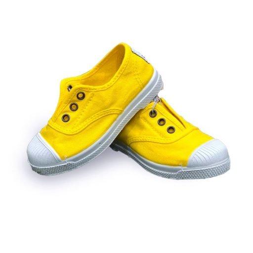 NATURAL WORLD bambino 100% cotone giallo