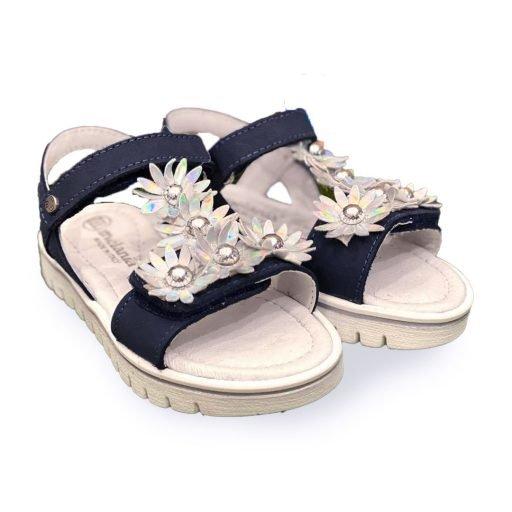 sandaletto bambina nero