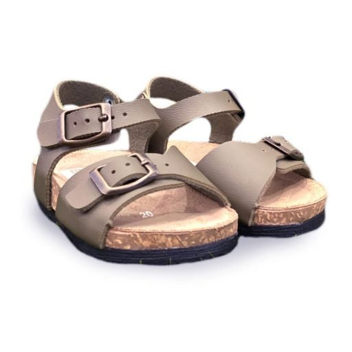 sandaletto bambino marrore made in italy