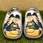 Pantofola Stanlio e Ollio 8