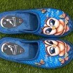 Pantofola gufo blu 8