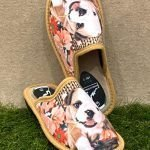Pantofola cane beige 4