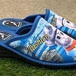 Pantofola gatto blu 8