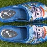 Pantofola gatto blu 10